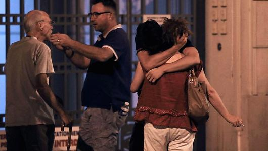 Tragedy in Nice, France