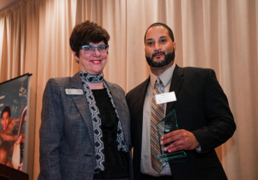 Diago McClain of PIF (Pay-It-Forward) Receives Award
