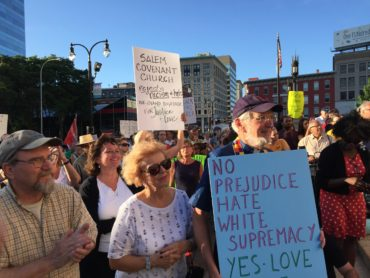 Salem Covenant Stands Against Racism and Violence – Stands Up for Justice and Love